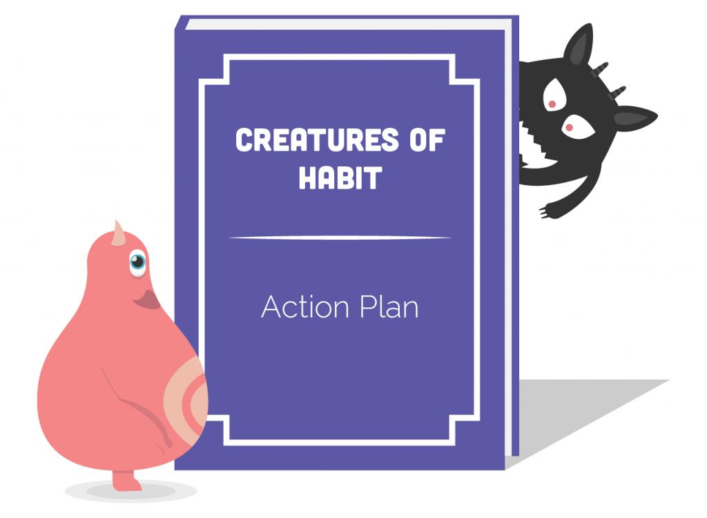creatures of habit action plan icon 01